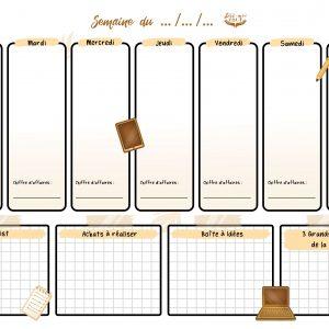 Planner buisness – beige (Dis-moi tout) (2)